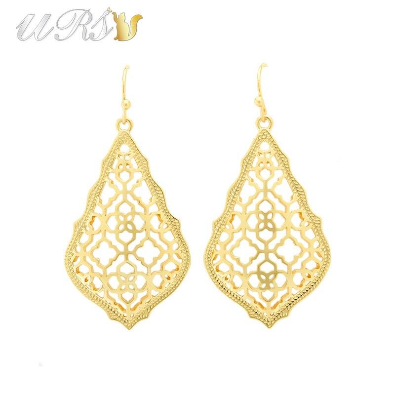 Trendy ks addie gold earrings modern jewelry for women Trendy womens gifts 2015