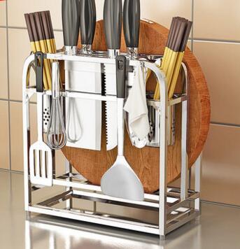 High - end 304 turret kitchen supplies kitchen knife racks racks anvil plate racks часы high end world