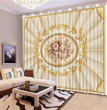 3D Curtain Custom Any Size Flower Pattern Curtains For Bedroom Living Room Bathroom Blackout