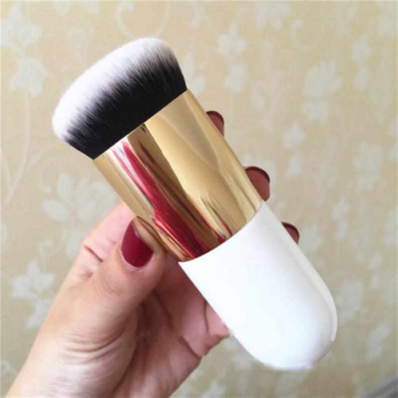 1pc Professional Foundation Makeup Face Brush High Quality Kabuki Powder Flat Brushes Random Color Mayitr