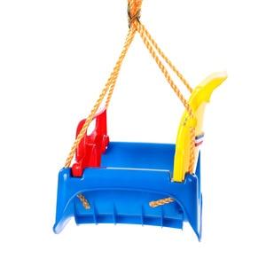 Image 2 - 3 In 1 Multifunctional Baby Swing Hanging Basket Outdoor Kids Toy Baby Swing Toy Patio Swings