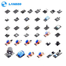 цена на 37 IN 1 sensor kit for Arduino starter kit high-quality (Works with Arduino Boards) landzo