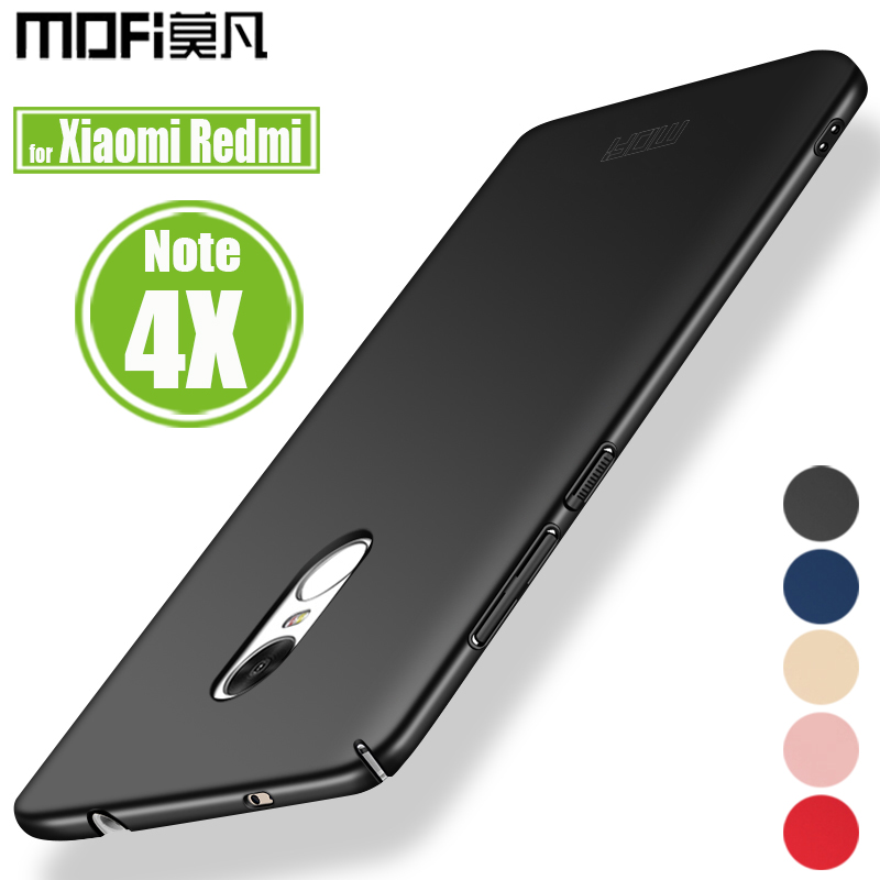Xiaomi Redmi Note 4X Pro Case Cover Mofi Luxury Frosted Hard Plastic Phone Bag Back Cases for Redmi Note 4 Global Version Capa