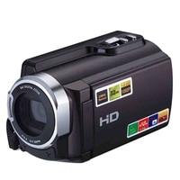 1080P 16X Hdv 5053Str Portable Camcorder Full Hd Digital Zoom Digital Video Camera Recorder Dvr With Wifi 8Mp Press Screen(Eu