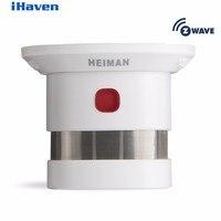 HEIMAN Z Wave Smoke Detector Smart Home EU Version 868 42MHz 85dBm Wrieless Smoke Fire Alarm