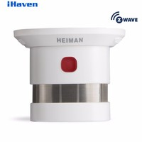 HEIMAN Z Wave Smoke Detector Smart Home EU Version 868 42MHz 85dBm Wrieless Smoke Fire Alarm