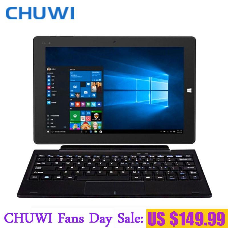 Prix pour Chuwi fans jour! 10.1 pouce chuwi hi10 double os tablet pc windows10 android intel atom z8350 quad core 4 gb ram 64 gb rom 1920x1200