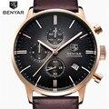 Часы мужские  Роскошные  брендовые  повседневные  кварцевые  спортивные  мужские  кожаные  военные  наручные часы  2019
