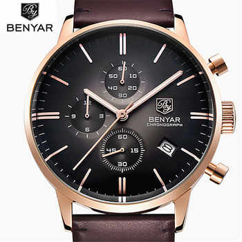 Watches Men Luxury Brand Casual Watch Quartz Clock Men Sport Watches Men's Leather Military Wrist Watch Relogio Masculino 2019 - DISCOUNT ITEM  70% OFF All Category