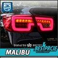 СОЮЗА Единый Торговый Стиль для Chevrolet Malibu Задние Фонари 2011-2014 Малибу LED Задний Фонарь Задние Лампы DRL + Тормозная + Парк + Сигнал