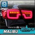 UNIÃO One-Stop Shopping Luzes Da Cauda Styling para Chevrolet Malibu 2011-2014 Malibu LED Tail Light Lâmpada Traseira Da DRL + Freio + Parque + Sinal