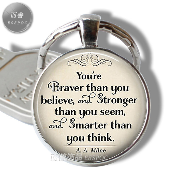 Online Shop Aaailne You Are Braver Than You Believe Inspirational