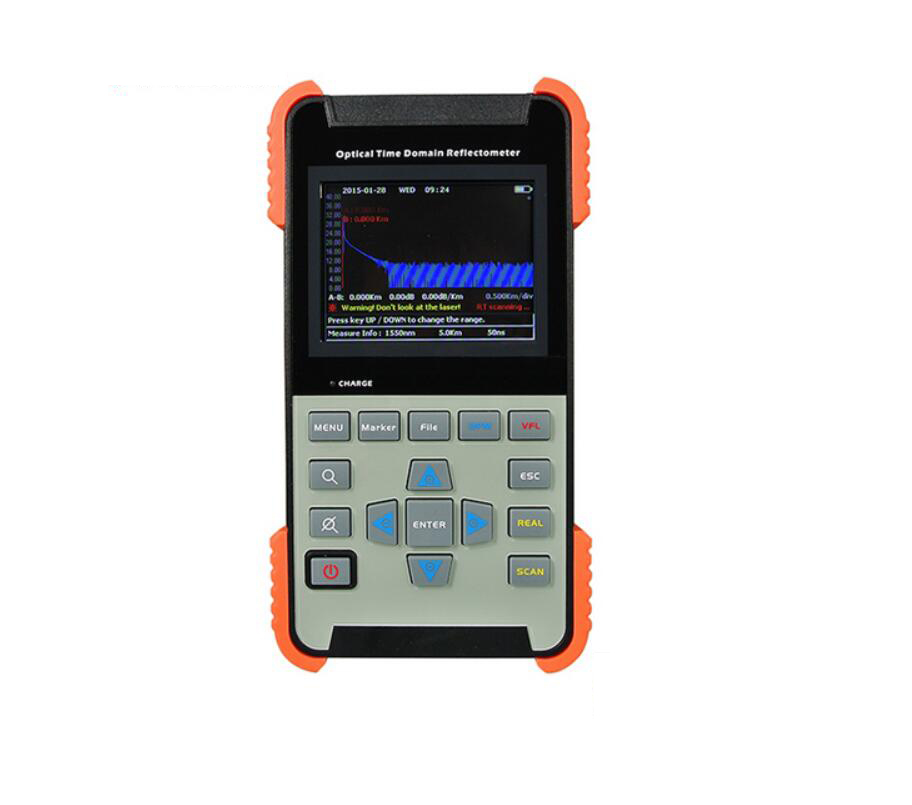 Handheld OTDR AOR500-S OTDR 24dB/22dB Tribrer Brand Integrated VFL 1310nm/1550nm Optical Time Domain Reflectometers BY DHL