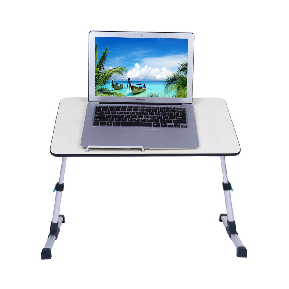 Foldable Standing Desk Laptop Computer Table Portable Sofa Bed