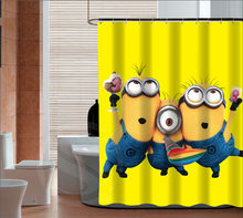 The Minions Custom Shower Curtains