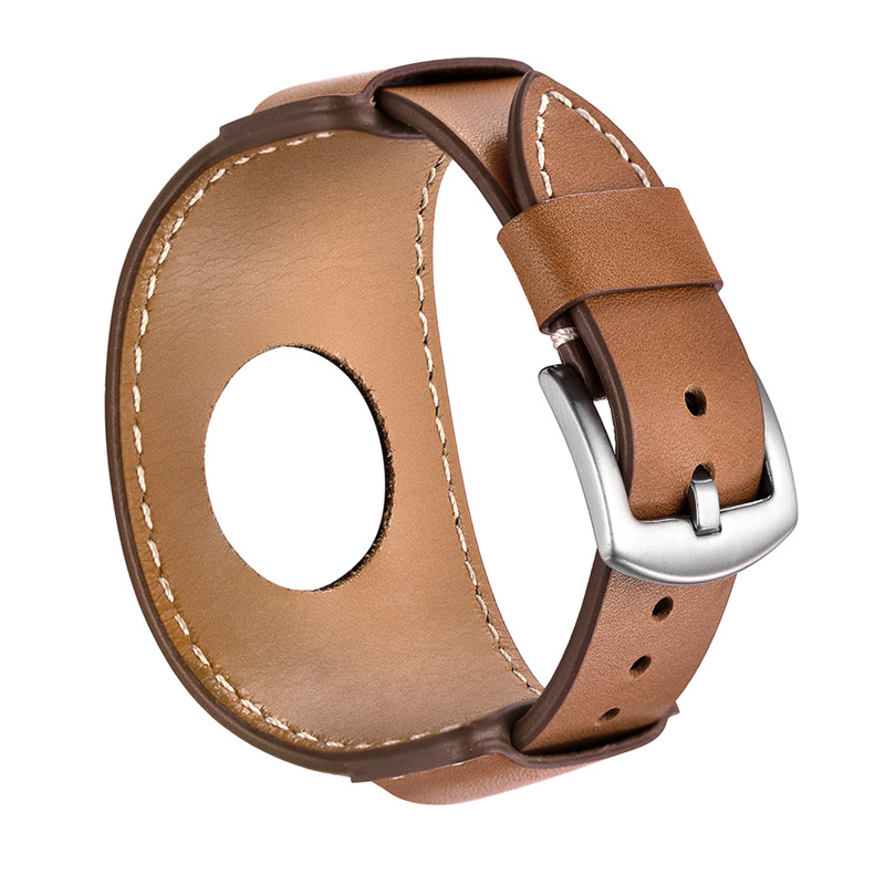 Fashion Bracelet Cuff Watch Strap For Apple Watch Band 38mm 42mm Metal Buckle Genuine Leather Strap Replacement Bands For iWatch цена и фото