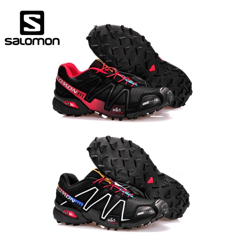 Casal sapatos Salomon Velocidade Cruz 3 CS Ao Ar Livre Calçados Esportivos  mulheres e homens running a1582bcc07