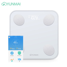Original YUNMAI Premium Smart Body Fat Weighting Mi Scale 2 Floor Digital Bathroom Scale Bluetooth Weight Scale Body Balance