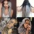 Ombre cinza prata clipe na extensão do cabelo humano Sexy Hot grampo de cabelo brasileiro em extensão total cabeça raiz escura