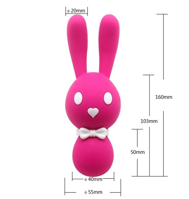 10 MODE LOVELY BUNNY EGG G-SPOT STIMULATOR VIBRATOR