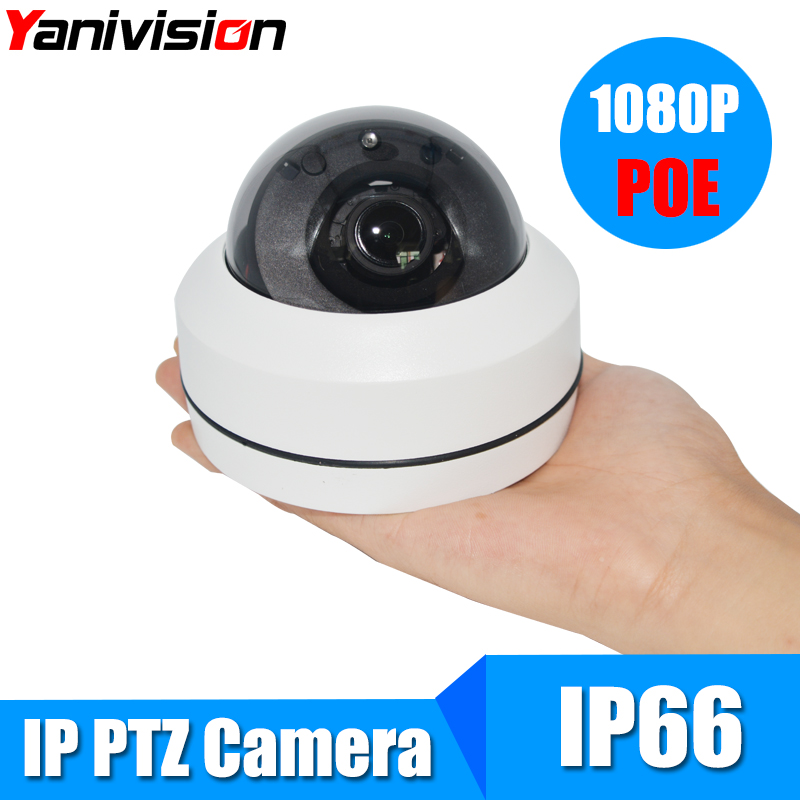 Full HD Onvif 3X Zoom P2P H 264 20m IR Night Vision PTZ Speed Dome Camera