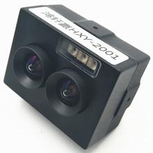 2 миллиона USB бинокулярная камера Модуль распознавания лица живое Обнаружение широкий динамический Инфракрасный ночного видения HD Бесплатный привод
