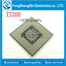 T7200 CPU 7200  SL9SF  4M Socket 479 (Cache/2.0GHz/667/Dual-Core) Laptop processor PGA