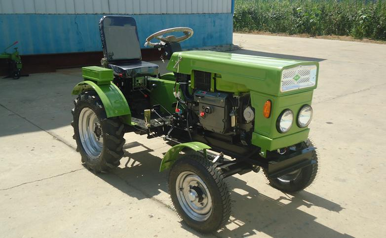Four Engine Tractor : Four wheel tractor rotary cultivator diesel engine r n