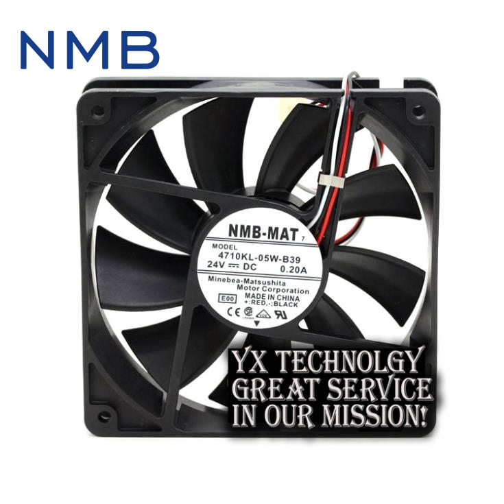 New 4710KL-05W-B39 24V 0.2A 12CM 12025 alarm inverter fan for nmb sw 05w