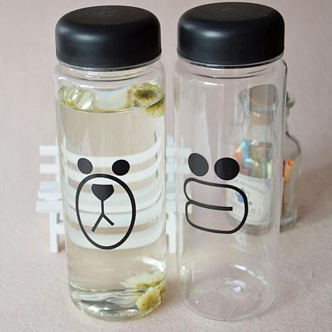 500ML  Fashion fruit water bottle  sports water bottle Hot sale plastic lemon juice readily bottle Lahore