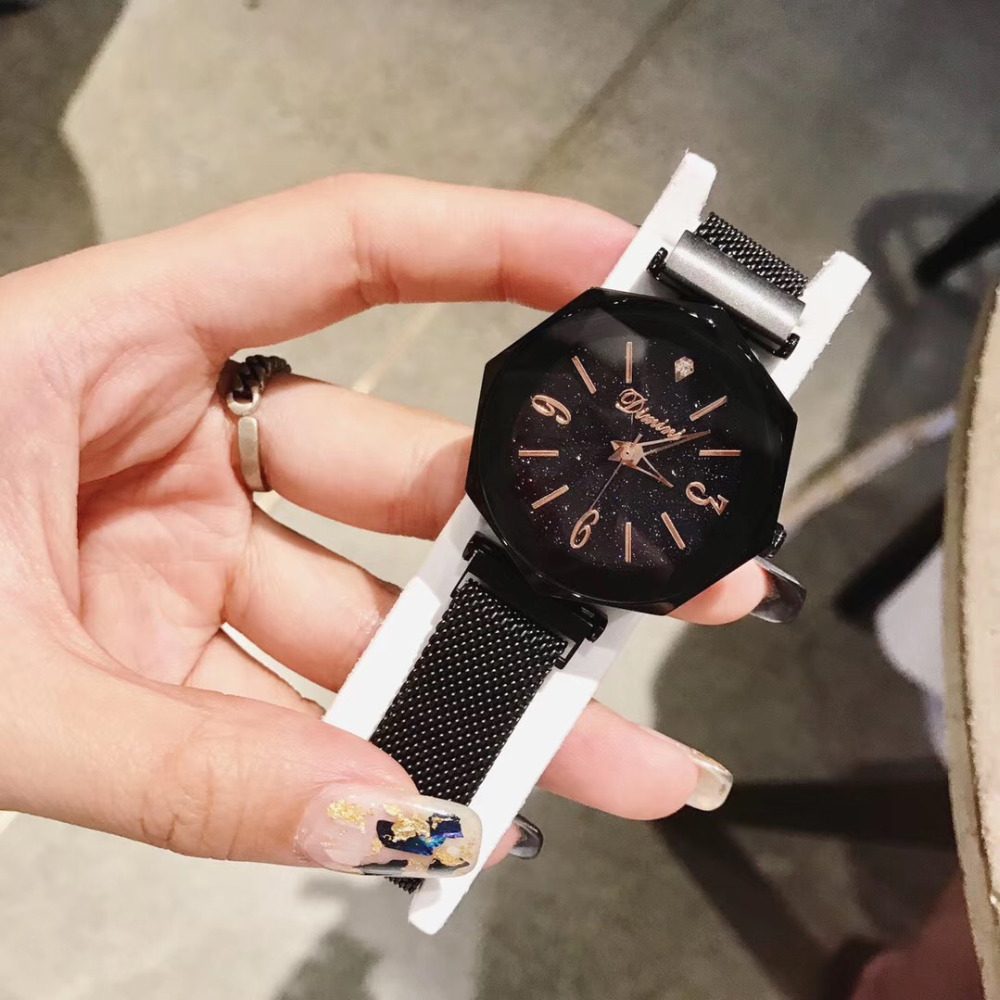 Personalizado 8 Lados Milanese Geométrica Relógios para