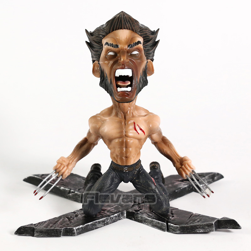Marvel X-men Wolverine Logan Statue PVC Figure Collectible Model ToyMarvel X-men Wolverine Logan Statue PVC Figure Collectible Model Toy