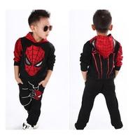 2017 New Winter Autumn Trolls Boy Children S Clothing Coat Spiderman Costume Batman Suit Kids Children
