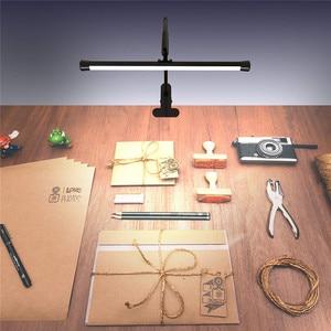 Image 5 - โคมไฟตั้งโต๊ะLEDแบบยืดหยุ่นGooseneck Clampแขนร่างตาราง10ระดับความสว่าง,โหมด3สี,5Wเปียโนหัวจัดการประชุม