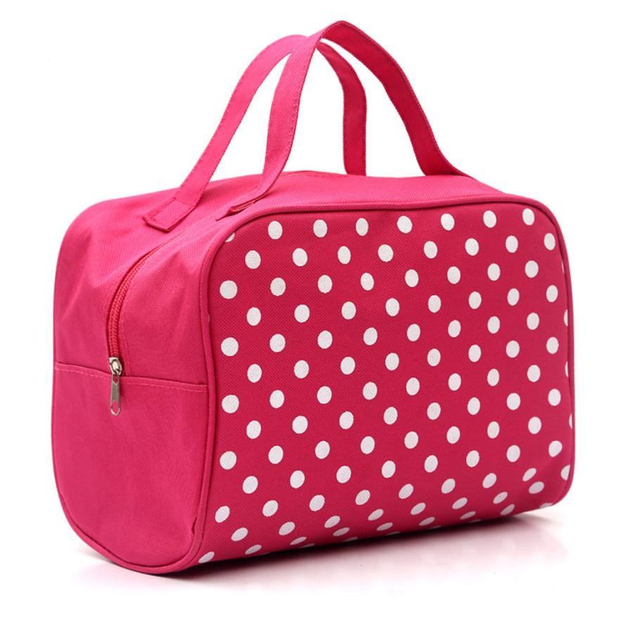 Hot Portable Entrancing Multifunction Travel Cosmetic Bag Make Up Organizer Toiletry Case Pouch Makeup Box Maleta De Maquiagem