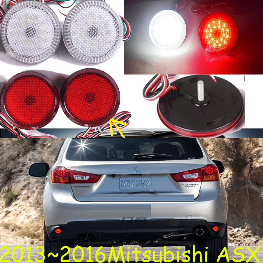 Mitsubish ASX breaking light,2013~2016,Free ship!LED,ASX rear light,LED,2pcs/set,ASX taillight;Grandis,Zinger,Outlander,ASX