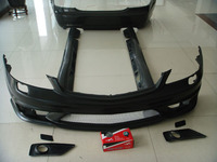 Preto FRP Body Kit Auto Car Tuning Body kit Para Benz W221 S63|Kit de carroceria|Automóveis e motos -