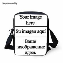 Nopersonality Custom Your Image Logo Name Mini Messenger Bags Women Shoulder Cross-body Bags Small Handbag for Ladies Kids Gift body image