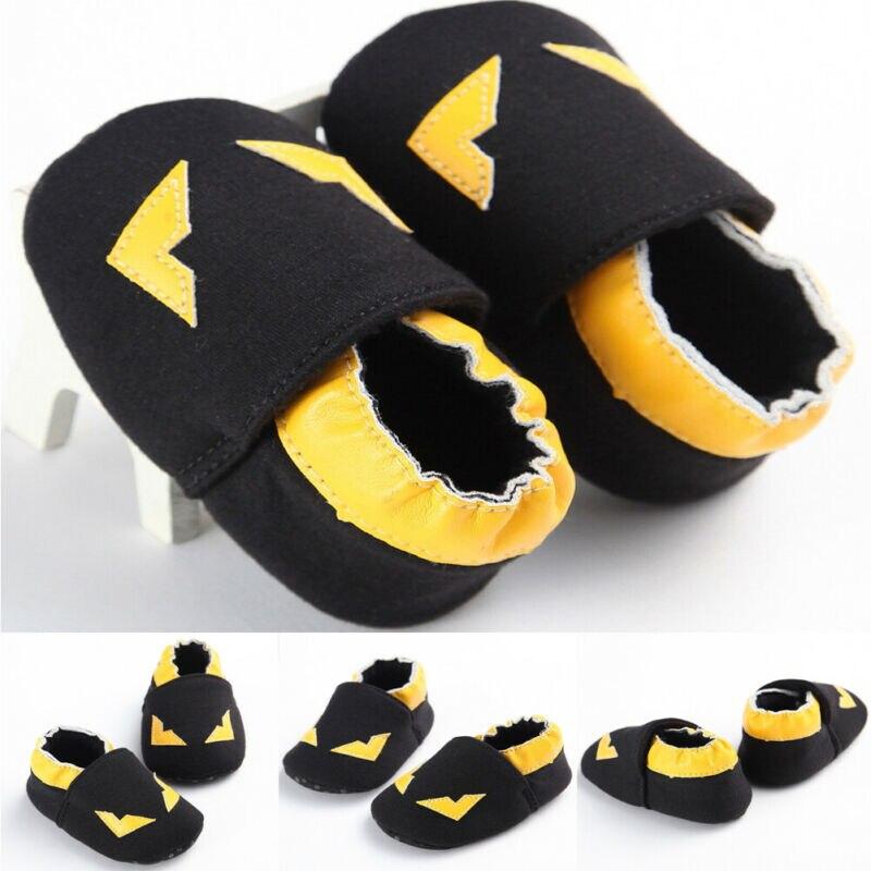 Baby Shoes Toddler Yellow Sneaker Prewalker Crib Soft-Sole Anti-Slip Girl Newborn Boy