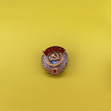Значок СССР, советский значок, Коммунистическая эмблема, 70 е, Ленин, комсомол, пропагандистская, СССР, значок с красной звездой, броши с молотком и серпом