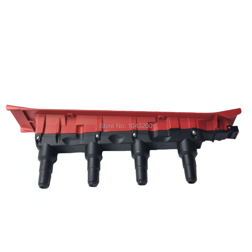 Paquet de Cassette de bobine d'étincelle d'allumage 55561132 rouge Direct pour SAAB 9-3 900 9000 Turbo 4 Cyl 9178955 09178955