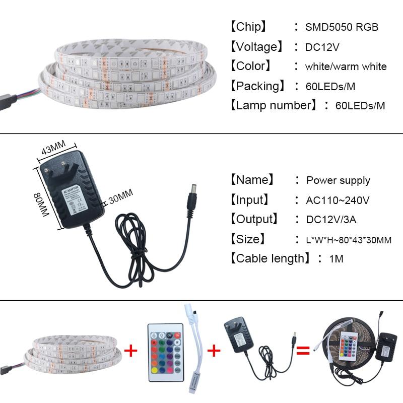 5050 RGB жарық диодты жарық диодты жарық - LED Жарықтандыру - фото 5