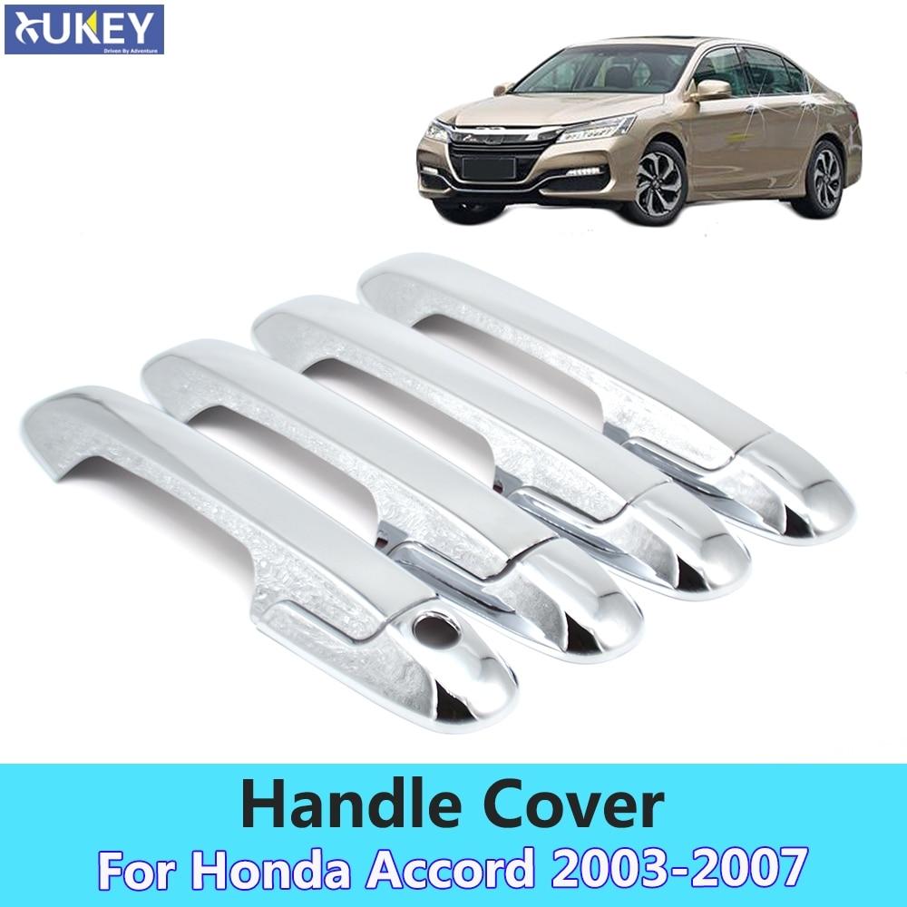Fits Honda Accord 94-97 Chrome Mirror B-Pillar Door Pillar Covers Post Accessori