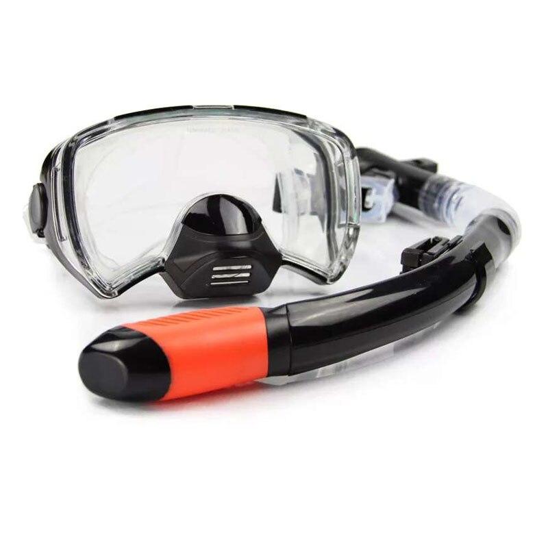 Nueva buceo máscaras hombres profesional nadar snorkel tubo adulto buceo aletas monofin largo Snorkeling natación aletas zapatos
