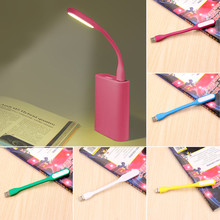5 Color Mini Adjustable Flexible USB LED Light Lamp Power bank PC Notebook Perfect for Night Working Book Reading Light Hot sale