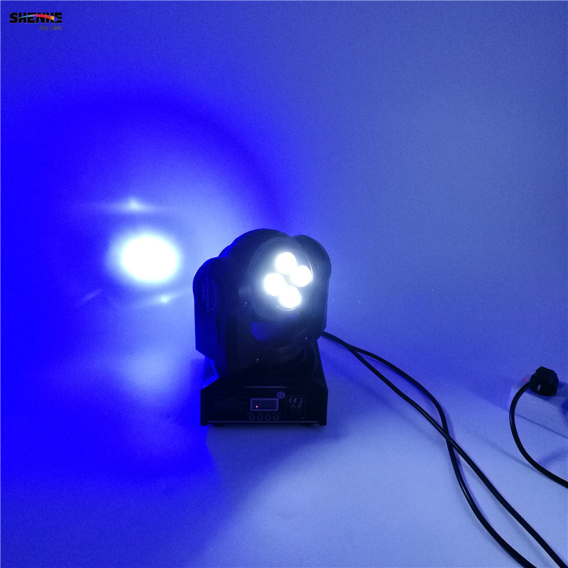 Christmas Dj Equipment 4x10W+1x10W Led DMX Wash Stage Light Disco Party  Light Double Sides RGBW 4in1 Moving Head Beam Light  In Stage Lighting  Effect From ...