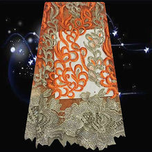 (5yards/lot) SDPN50,with rhinestone decoration African net lace fabric,hot sale tulle embroidered lace fabric