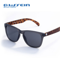 COLOSSEIN Blue Label Brand Candy Colorful Unisex Fashion Sunglasses Crystal Clear Square Frame With Colorful Mirror