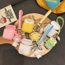 Japan cartoon Melody Cinnamoroll Wireless Bluetooth Earphone Case For Apple AirPods Silicone Charging Headphones Cases Cover