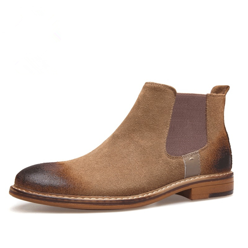 2017 new Martin boots male shoes desert Chelsea boots ...